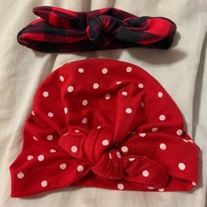Other - CUTE baby headband and hat